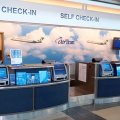 Photo taken at AirTran Airways Ticket Counter by Troy B. on 9/15/2011