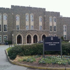 Photo taken at Cameron Indoor Stadium by Ashley H. on 1/11/2012