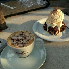 Photo taken at Fran's Café by Satoru S. on 3/12/2012