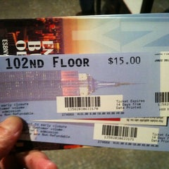 Photo taken at Atrium Lounge - Marriott Marquis by Tom J. on 1/23/2012