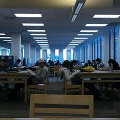 Photo taken at University Library - Cal Poly Pomona by Selesta C. on 12/5/2011