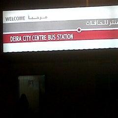 Photo taken at Deira City Centre Terminus by Jason Q. on 10/9/2011