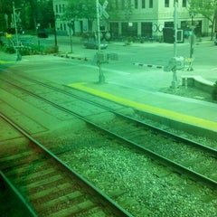 Photo taken at Metra - Elmhurst by Jennifer H. on 5/26/2012