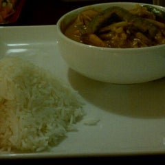 Photo taken at Sabai Sabai Thai Cuisine by Andrea S. on 1/10/2012