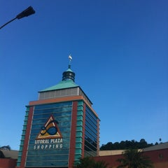 Photo taken at Litoral Plaza Shopping by RR D. on 5/20/2012