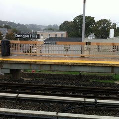 Photo taken at MTA SIR - Dongan Hills by Shanae S. on 9/7/2011