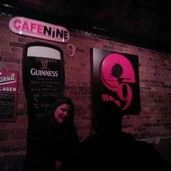 Photo taken at Cafe 9 by Cassandra B. on 1/4/2012