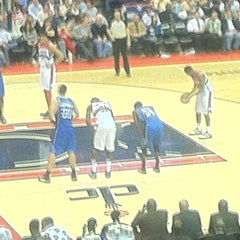Photo taken at Washington Wizards by David S. on 3/1/2012