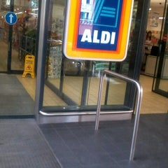 Photo taken at Aldi by Igor on 9/10/2012