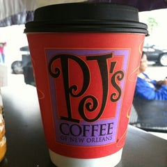 Photo taken at PJ's Coffee by Vanessa S. on 11/26/2011