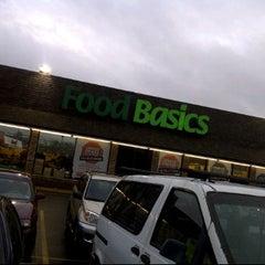 Photo taken at Food Basics by King Garcia on 1/17/2012