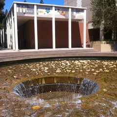 Photo taken at UCLA Inverted Fountain by Adam Z. on 7/7/2012