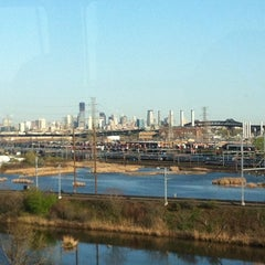 Photo taken at New Jersey Turnpike - Newark by Paige J. on 4/13/2012