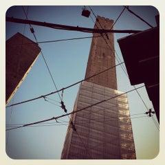 Photo taken at Torre Degli Asinelli by Marina C. on 1/11/2012