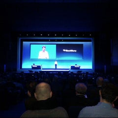 Photo taken at BlackBerry DevCon Europe at the Amsterdam RAI Convention Centre by Ed F. on 2/7/2012