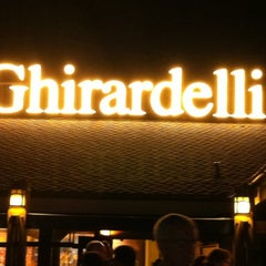 Photo taken at Ghirardelli Soda Fountain & Chocolate Shop by Richard K. on 10/3/2011