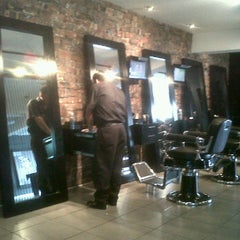Photo taken at The Rat Pack Barbershop by Jose C. on 12/17/2011