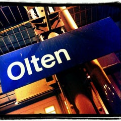 Photo taken at Bahnhof Olten by Jürg B. on 12/7/2011