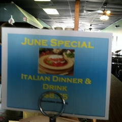 Photo taken at Johnny's New York Style Pizza by Pete K. on 6/12/2012