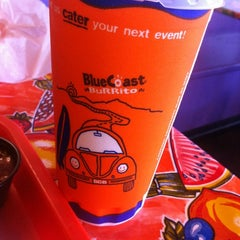 Photo taken at Blue Coast Burrito by Shannon S. on 6/10/2012