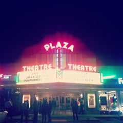 Photo taken at Plaza Theatre by Colin H. on 11/8/2011