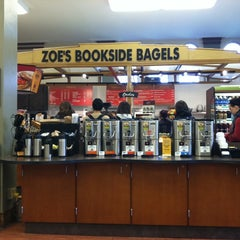 Photo taken at Zoe's Bookside Bagels by Joel A. on 4/18/2011