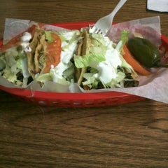 """Photo taken at Mr. Taco by Ric """"DJ 4 LIFE"""" R. on 11/25/2011"""