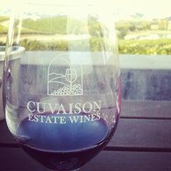 Photo taken at Cuvaison Estate Wines by Karen H. on 10/15/2011