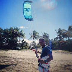 Photo taken at Laurel Eastman Kiteboarding by Uncommon Caribbean M. on 3/16/2012