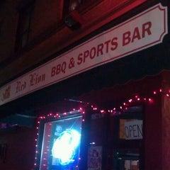Photo taken at Red Lion BBQ & Pub by Bryan B. on 11/11/2011