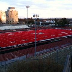 Photo taken at Roos Field by Scott D. on 11/29/2011