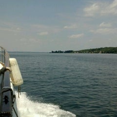 Photo taken at Cayuga Lake by Faith S. on 7/4/2012