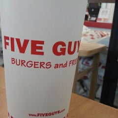 Photo taken at Five Guys by Briana S. on 6/29/2012