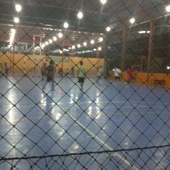 Photo taken at Zona Futsal Pulau Situ Gintung by tie c. on 6/20/2012