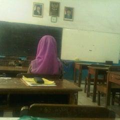 Photo taken at SMA Angkasa Medan by R. Cynthia D. on 6/12/2012