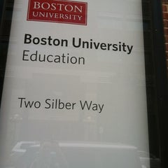 Photo taken at Boston University School of Education by Brian B. on 4/23/2012