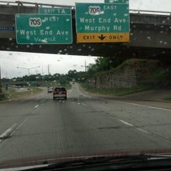 Photo taken at Interstate 440 by Brian H. on 6/10/2012