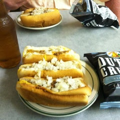 Photo taken at Milwaukee Wiener House by Andrew on 6/29/2012