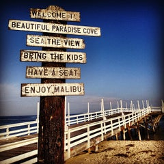 Photo taken at Paradise Cove by Daniel F. on 9/10/2012