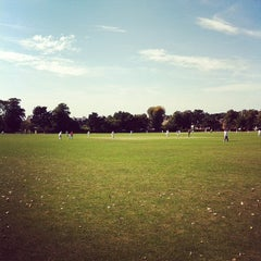 Photo taken at Dundonald Recreation Ground by Chris P. on 9/9/2012