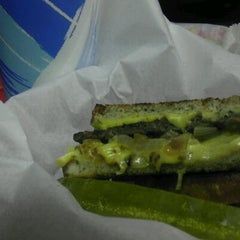Photo taken at Windy City Gyros by Travis P. on 5/15/2012