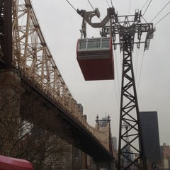 Photo taken at Roosevelt Island Tram by Liza P. on 2/16/2012