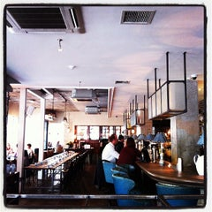 Photo taken at The Riding House Café by Jon H. on 7/3/2012