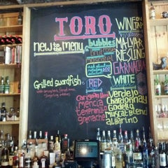 Photo taken at Toro by Katherine P. on 4/15/2012