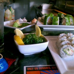 Photo taken at RA Sushi Bar Restaurant by Queen C. on 4/7/2012