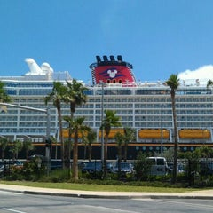 Photo taken at Port Canaveral by Claudia C. on 5/19/2012