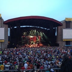 Photo taken at Nikon at Jones Beach Theater by Stuart W. on 7/5/2012