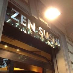 Photo taken at Zen Sushi by Steo P. on 8/7/2012