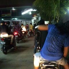 Photo taken at SPBU Plumpang by Fie D. on 4/4/2012