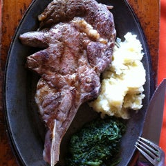Photo taken at El Ganadero - Steak House by Samuel M. on 2/23/2012